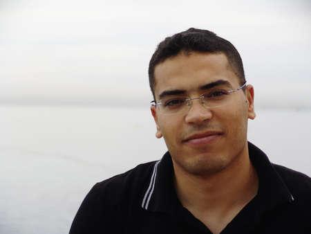 afrique du nord: Bel homme tunisien en Tunisie, Afrique du Nord Banque d'images