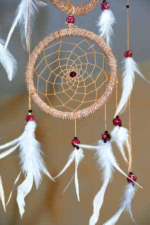 Shot of dream catcher in bedroom