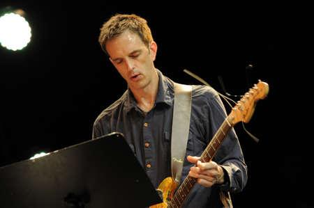 saalfelden: SAALFELDEN, AUSTRIA - AUG 28: Pete Fitzpatrick performing at Jazzfestival Saalfelden at Congresscenter Saalfelden, Austria.