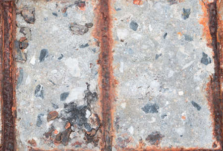 녹슨 콘크리트 극 텍스처를 닫습니다 스톡 콘텐츠