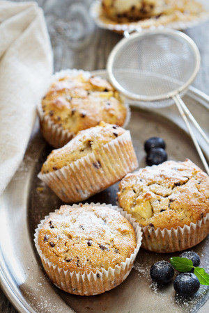food allergy: Gluten free almond and oat muffins