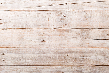 wood wall texture: White wooden rustic background with planks and nails