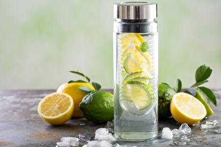 Geïnfundeerd detoxwater