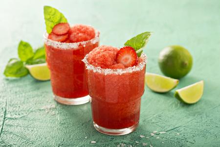 Bevroren aardbeienkalk Margarita