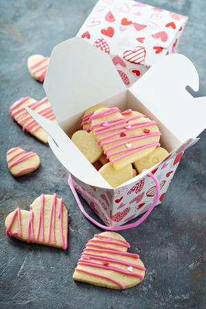 바닐라 설탕 쿠키를 잘라 스톡 콘텐츠 - 95873752
