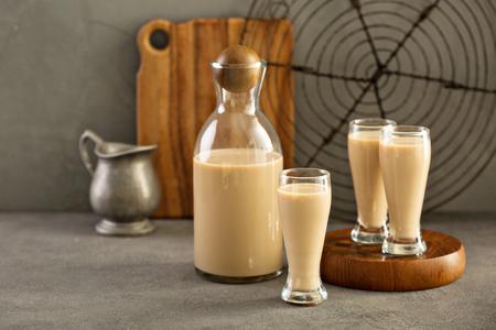 Homemade irish cream liquor