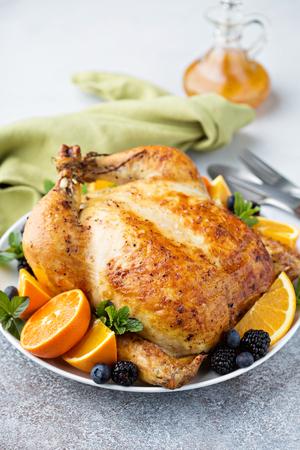 Roasted chicken for dinner