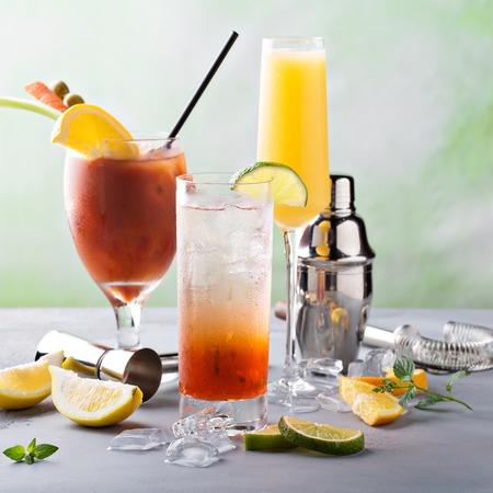 Breakfast or brunch cocktails