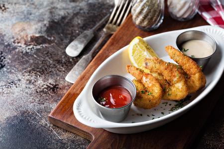 Fried shrimp appetizer