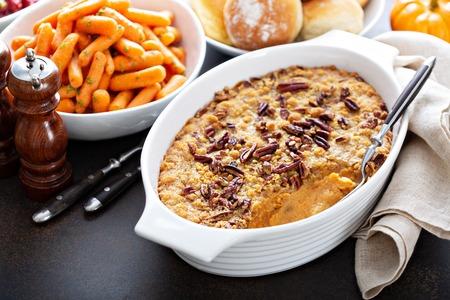Sweet potato casserole Banque d'images