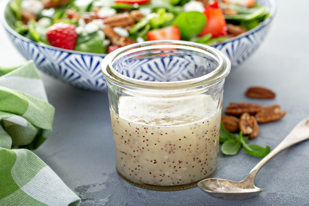Homemade poppyseed salad dressing