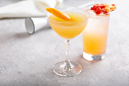 Variety of coctails 写真素材