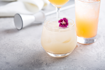 Variety of coctails Imagens