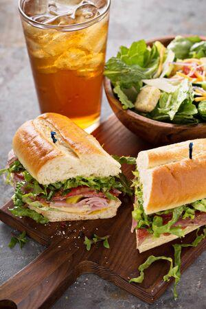 Italian sandwich for lunch Reklamní fotografie