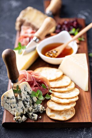 Cheese and snack board