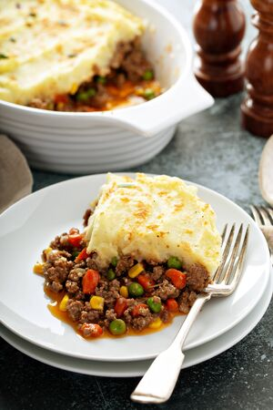 Shepherds pie with beef