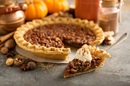 Pecan pie for Thanksgiving