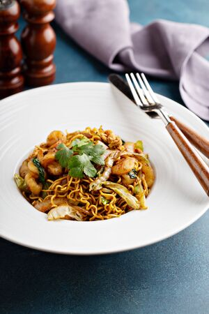 Indonesian Mie Goreng, fried noodle