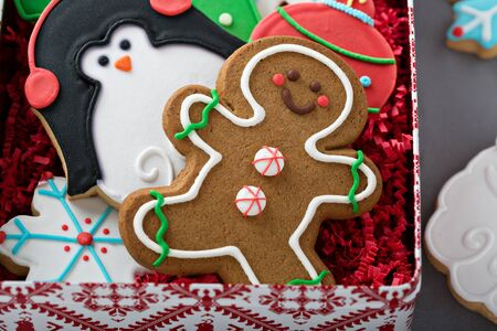 Christmas sugar and gingerbread cookies