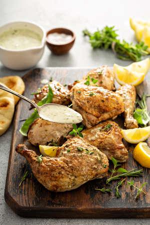 Lemon herbed garlic chicken