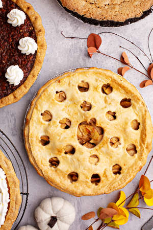 Traditional fall pies