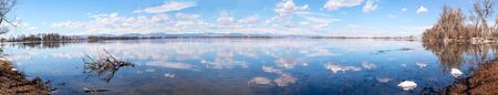 Barr Lake State Park in Brighton, Colorado 版權商用圖片 - 142428276