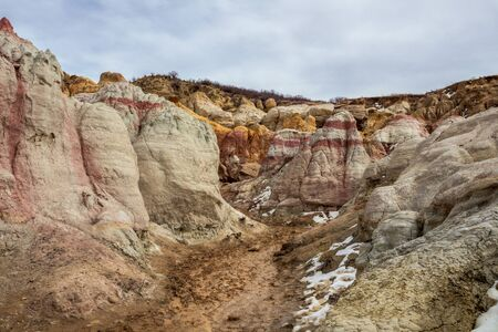 Paint Mines Interpretive Park, Unique and Colorful Ancient Geological Site in Colorado