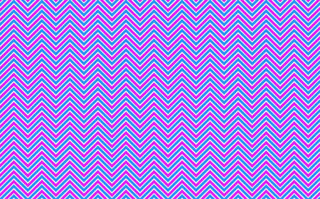 A vectorial colorful zig zag pattern background Stock Vector - 91518361