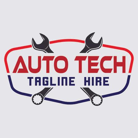 automotive service logo concept