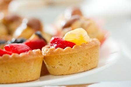 a shot of some beautiful pastries and desserts Stock Photo