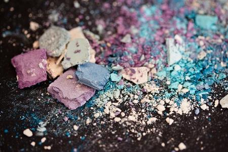 une vie encore de la poudre de fard à paupières coloré et make-up