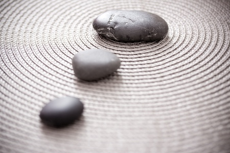 zen pile of stone, balance and meditation concepts Stock Photo - 12810000