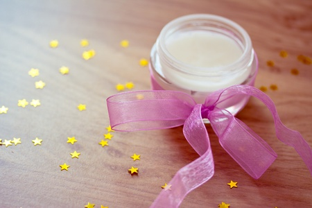 different lotion, moisturizers and beauty care Stock Photo - 12868804