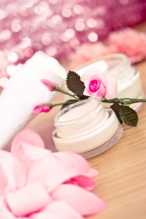 example of luxury spa beauty products