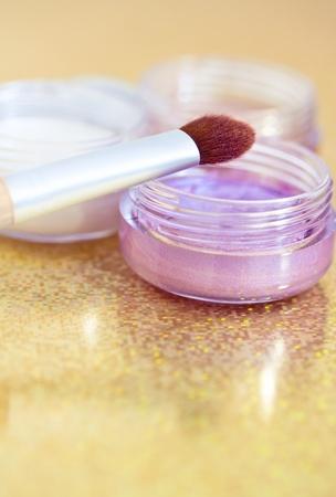 make-up shot of some eyeshadows Stock Photo - 14752515