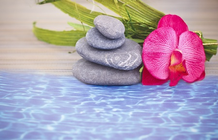 objects for spa massage and aromatherapy Stock Photo - 15995797