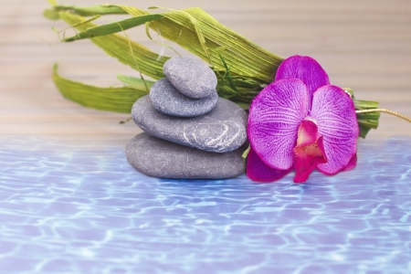 objects for spa massage and aromatherapy Stock Photo - 15995879