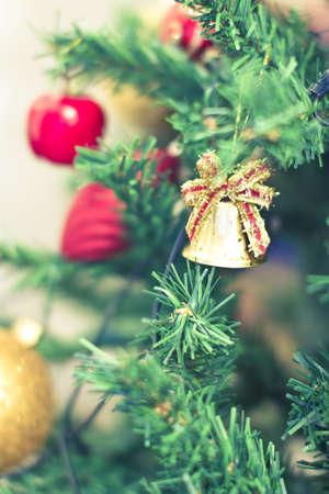 some beautiful Christmas tree decorations Stock Photo - 16834143