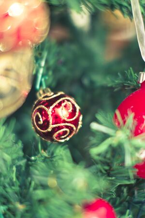 some beautiful Christmas tree decorations Stock Photo - 16834137