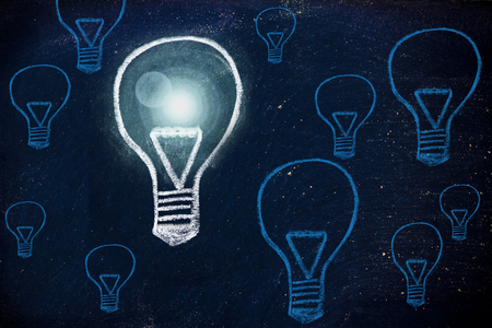 winning idea: metaphor of one unique winning idea