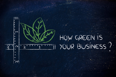 CSR and environment friendly companies, measure how green your business could be photo