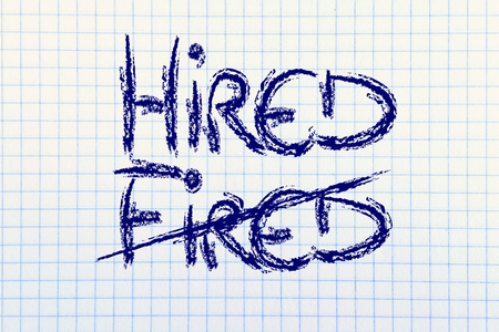 turn the word Fired into Hired