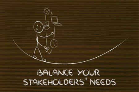 expectations: concept of dealing with stakeholders needs and expectations: juggling with office tools
