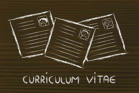 cv: CV selection and the recruitmet process, resumes of different people
