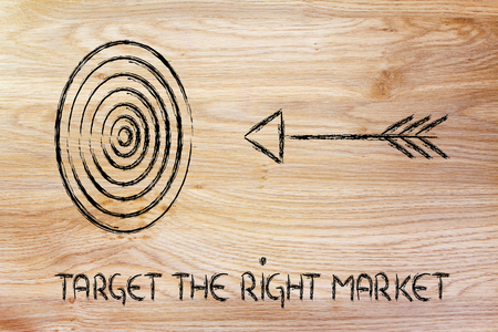 concept of choosing the right target market in business