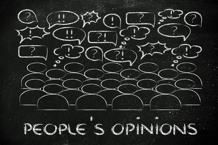 commenting: people reacting and commenting or expressing their feelings and opinions