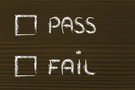 pass test: multiple choice test: pass or fail?