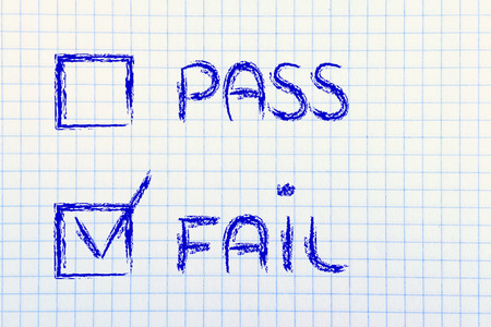 no pase: prueba de opción múltiple: aprobar o suspender?