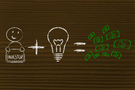 investors: elements of business success: good investors and good ideas