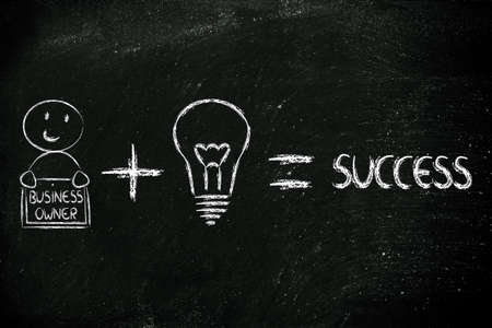 owners: elements of business success: good business owners and good ideas
